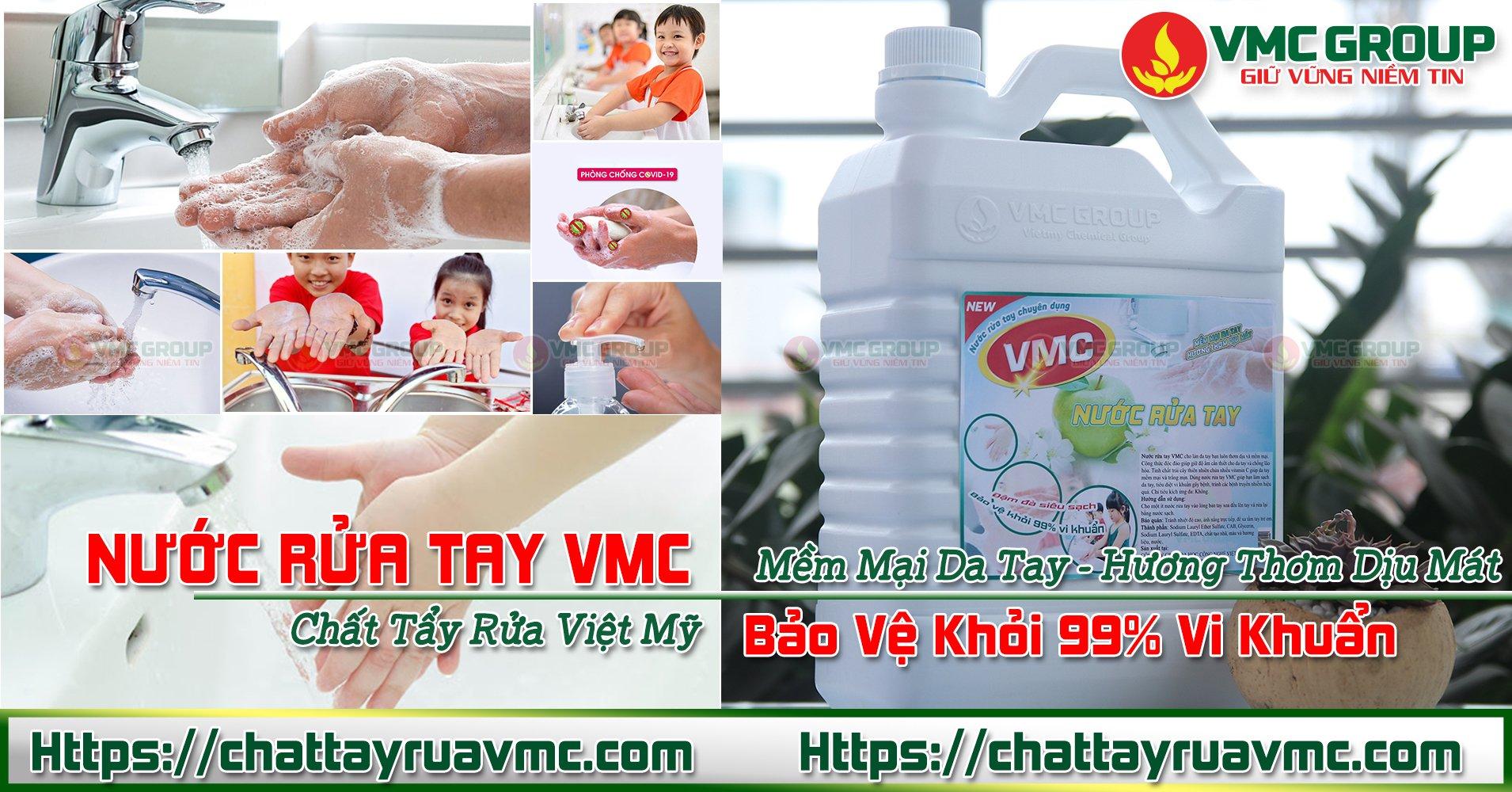 VMC RỬA TAY